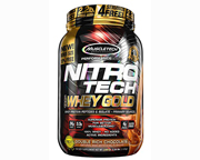 MUSCLETECH PROTEINA NITRO-TECH 100% WHEY GOLD 2,2 LBS STRAWBERRY